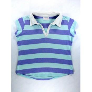 Lila-kék csíkos póló (140)