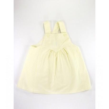 Sárga fehér csíkos ruha