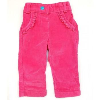 Pink mikrokord nadrág (56-62)