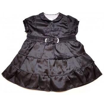 Masnis fekete szatén ruha (80)
