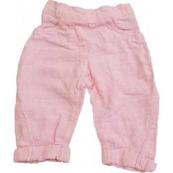 Rózsaszín lenes nadrág (68)