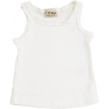 Fodros fehér trikó (68)