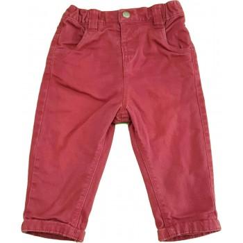 Bélelt bordó nadrág (68-74)