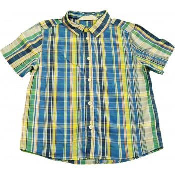 Kék-sárga kockás ing (122)