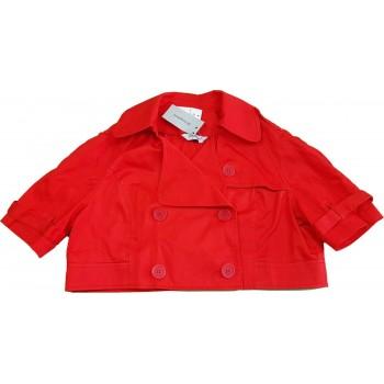 Piros rövid blézer (40)