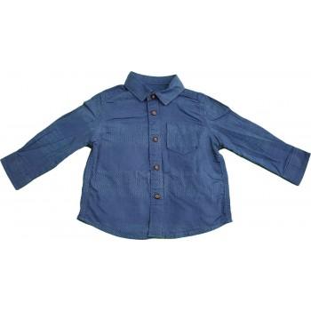 Aprómintás kék ing (74)