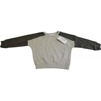 Új, szürke M&S pulóver (134)