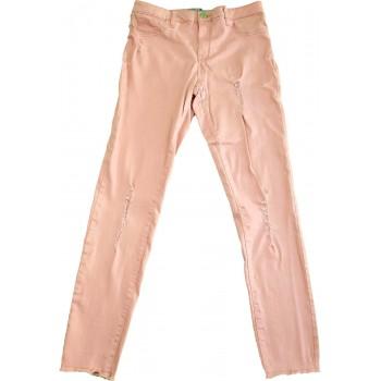 Rózsaszín skinny nadrág (158)