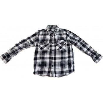 Fekete-fehér kockás ing (122)