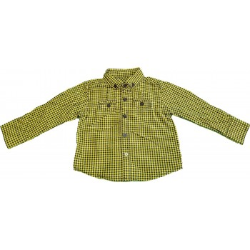 Fekete-sárga kockás ing (86)