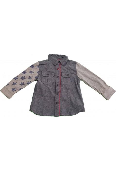 Csillagos szürke ing (80)