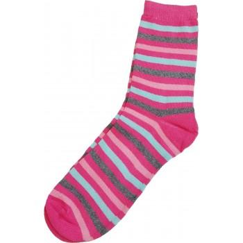 Pink csíkos felnőtt zokni (38-42)