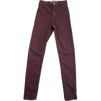 Bordó skinny nadrág (146-152)