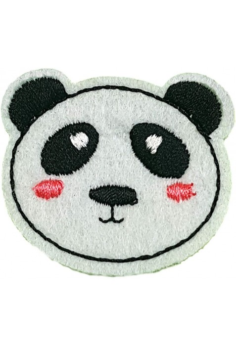 Ruhára vasalható folt – panda