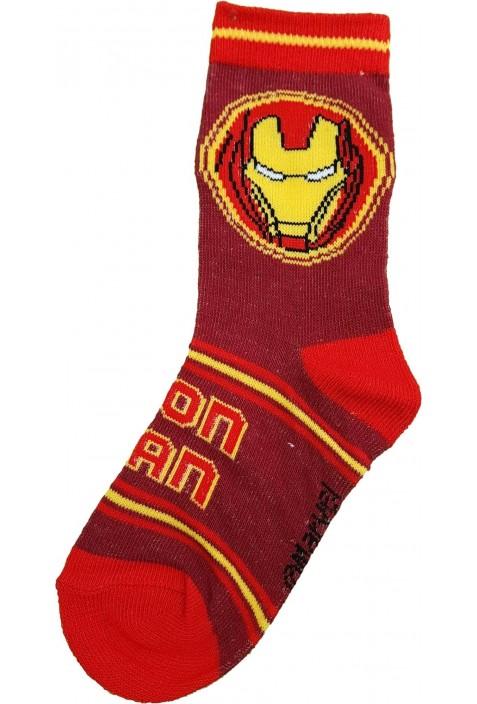 Piros Vasember zokni (23-26)