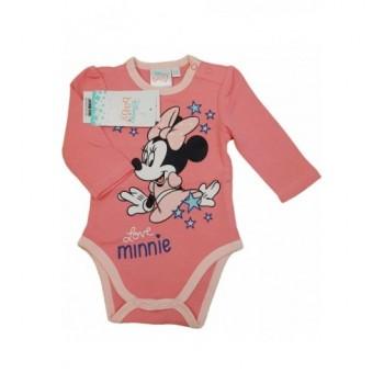 Rózsaszín Minnie body (62-68)