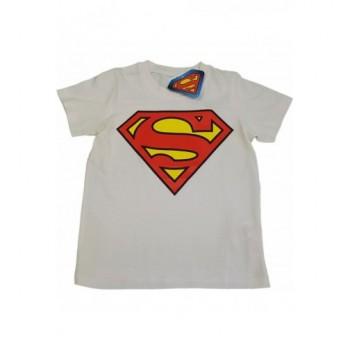 Superman fehér felső (128)