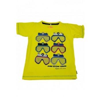 Búvárszemüveges sárga felső (98)