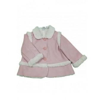 Szőrmés rózsaszín kabát (86)