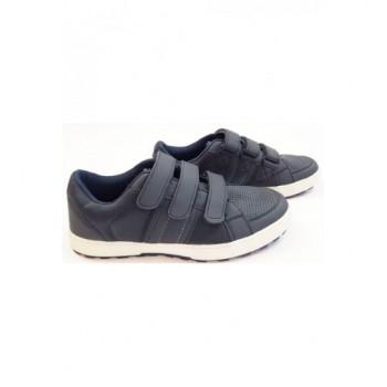 Tépőzáras sötétkék cipő (37)