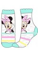 Szürke-zöld Minnie zokni (27-30)