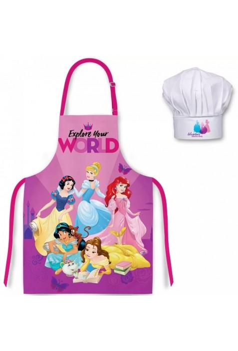 Disney Hercegnők Gyerek kötény 2 darabos szett (98-128)