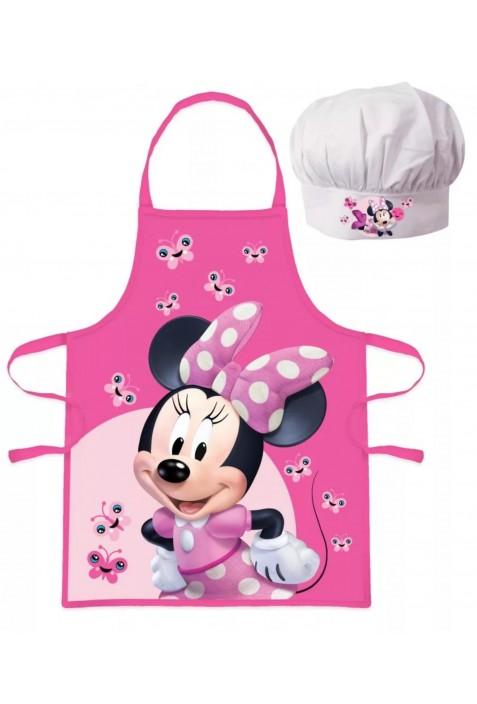 Minnie egeres Gyerek kötény 2 darabos szett