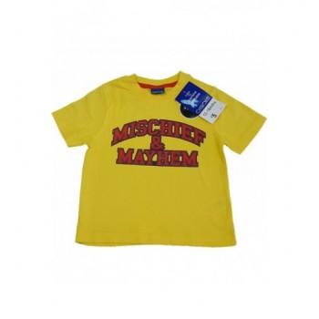Feliratos sárga felső (86)