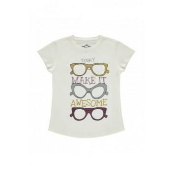 Szemüveges ekrü felső (122-128)