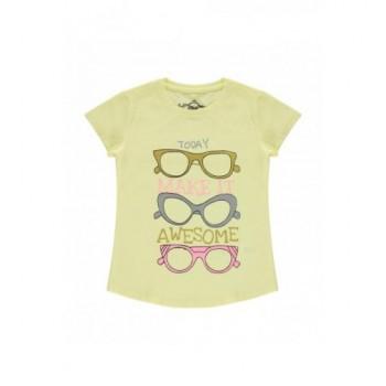Szemüveges sárga felső (122-128)