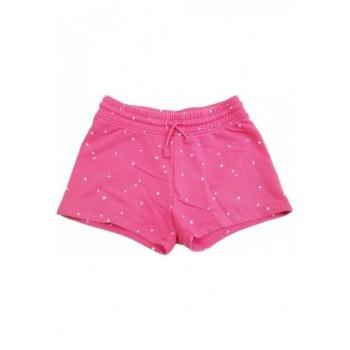 Csillagos rózsaszín rövidnadrág (140)