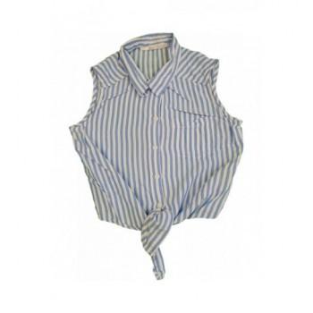 Kék-fehér csíkos ing (140)