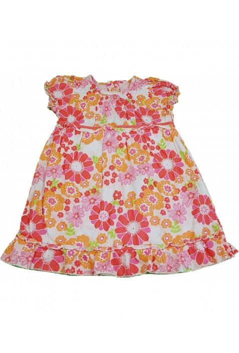 Virágos rózsaszín ruha (86)