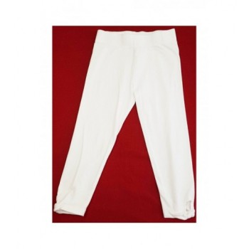 Masnis fehér capri leggings (140)