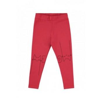 Meow cicás piros leggings (92-98)