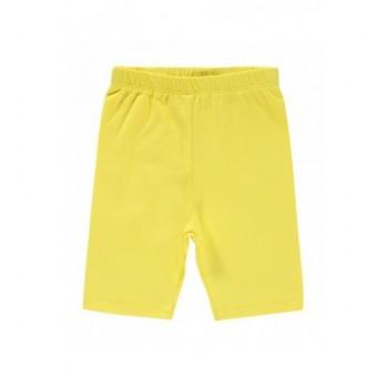 Sárga rövid leggings (68-74)