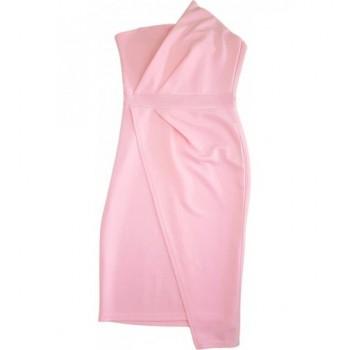 Csinos rózsaszín alkalmi ruha (158-164)