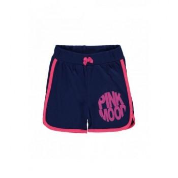 Pink szegélyű kék short (110-116)