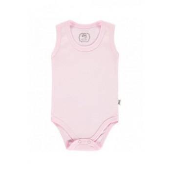 Ujjatlan rózsaszín body (68)