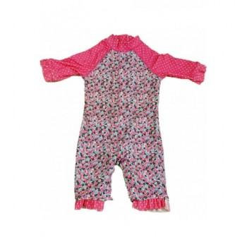 Pink virágos úszóruha (74)