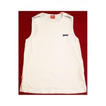 Sportos fehér trikó (122-128)