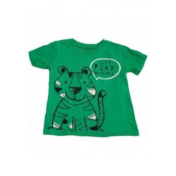 Tigrises zöld felső (68-74)