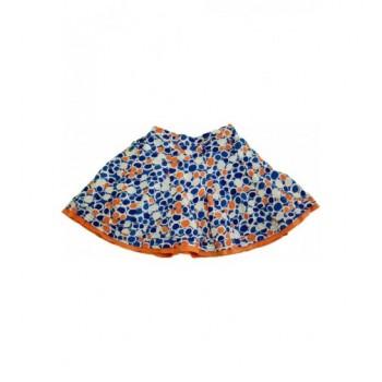 Körmintás kék-fehér szoknya (116)