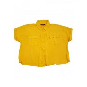 Mustársárga rövid ing (170)