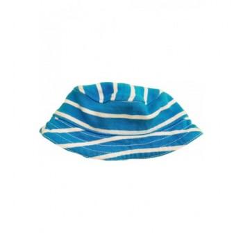 Türkizkék csíkos kalap (62)