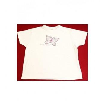 Pillangós fehér felső (134-140)