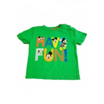 Mickey egeres zöld felső (80)