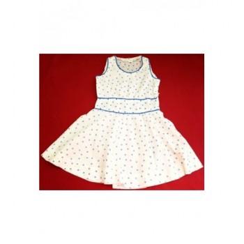 Pöttyös fehér ruha (152)