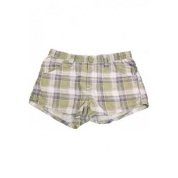 Zöld kockás rövidnadrág (140)