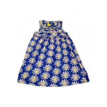 Margarétás kék ruha (128)